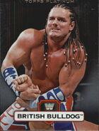 2010 WWE Platinum Trading Cards British Bulldog 99