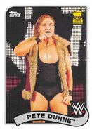 2018 WWE Heritage Wrestling Cards (Topps) Pete Dunne 59