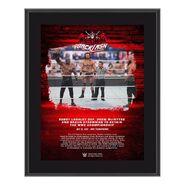 Bobby Lashley WrestleMania Backlash 2021 10x13 Commemorative Plaque