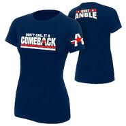 Kurt Angle Comeback Women's Authentic T-Shirt