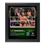 Rusev Money In The Bank 2016 15 x 17 Framed Photo w Ring Canvas