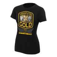 Undisputed Era Undisputed Gold Women's Authentic T-Shirt