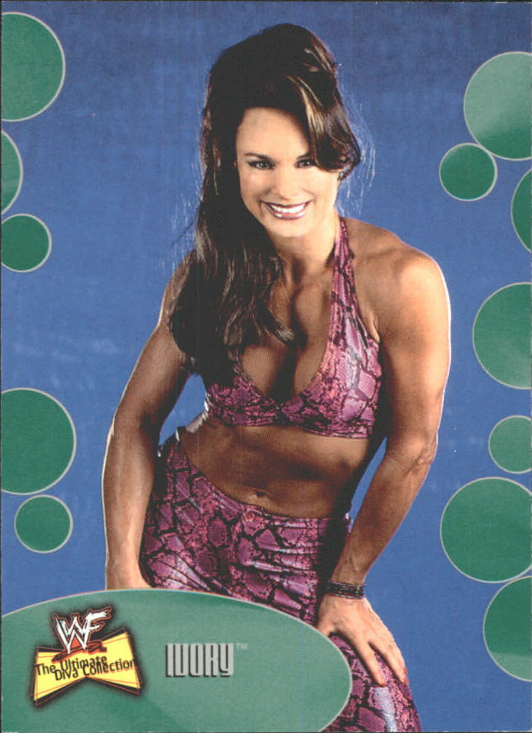 2001 WWF The Ultimate Diva Collection (Fleer) Ivory (No.45)