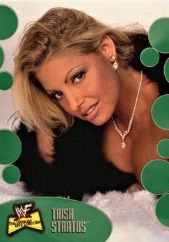 2001 WWF The Ultimate Diva Collection (Fleer) Trish Stratus (No.50)