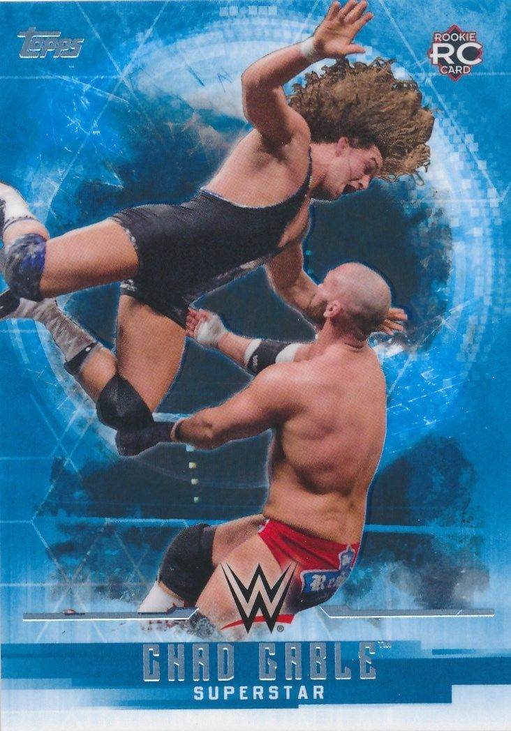 2017 WWE Undisputed Wrestling Cards (Topps) Chad Gable (No.9)