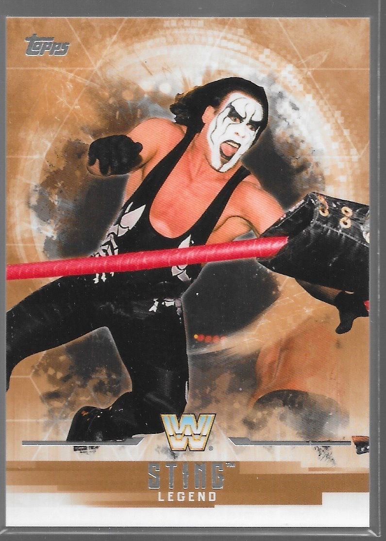 2017 WWE Undisputed Wrestling Cards (Topps) Sting (No.68)