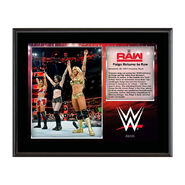 Absolution Raw Debut 10 x 13 Commemorative Photo Plaque