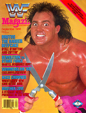 WWF Magazine - September 1988