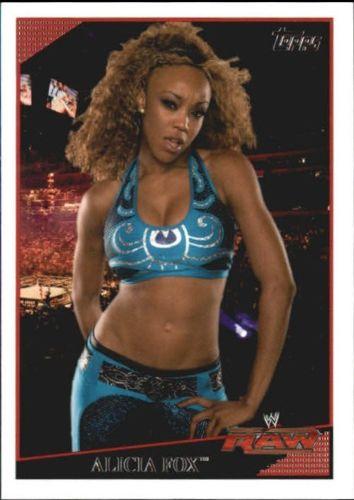 2009 WWE (Topps) Alicia Fox (No.50)