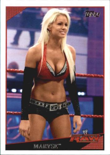 2009 WWE (Topps) Maryse (No.42)