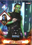 2013 TNA Impact Wrestling Live Trading Cards (Tristar) Jeff Hardy 109