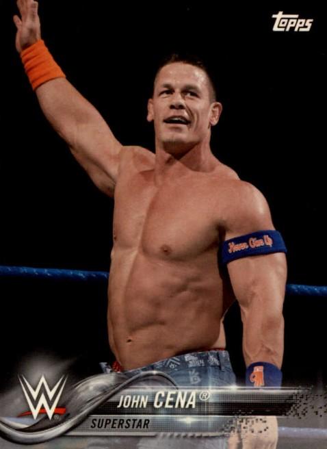 2018 WWE Wrestling Cards (Topps) John Cena (No.43)