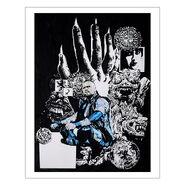 Aleister Black 11 x 14 Rob Schamberger Art Print