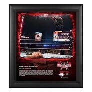 Kevin Owens WrestleMania 37 15x17 Commemorative Plaque