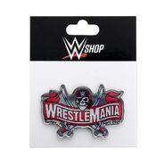 WrestleMania 37 Logo Pin