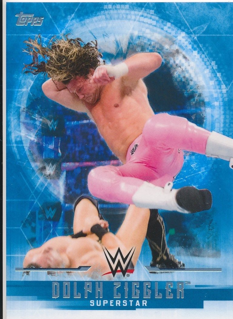 2017 WWE Undisputed Wrestling Cards (Topps) Dolph Ziggler (No.13)