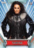 2019 WWE Women's Division (Topps) Tamina 15