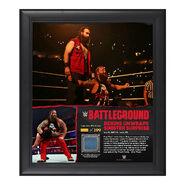 Bray Wyatt Battleground 15 x 17 Framed Ring Canvas Photo Collage