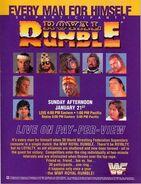 Royal Rumble 1990 Poster