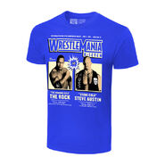 WrestleMania X7 The Rock vs. Stone Cold Steve Austin Matchup T-Shirt