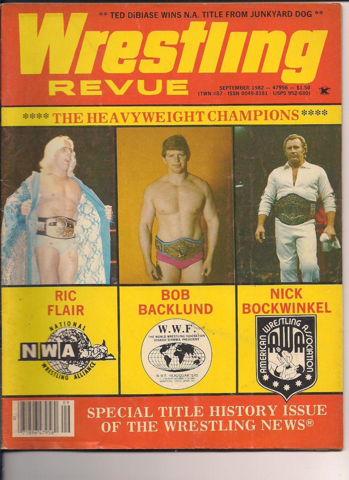 Wrestling Revue - September 1982