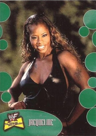 2001 WWF The Ultimate Diva Collection (Fleer) Jacqueline (No.39)
