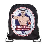 John Cena Hustle Loyalty Respect Drawstring Bag