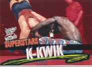 2001 WWF WrestleMania (Fleer) K-Kwik 41