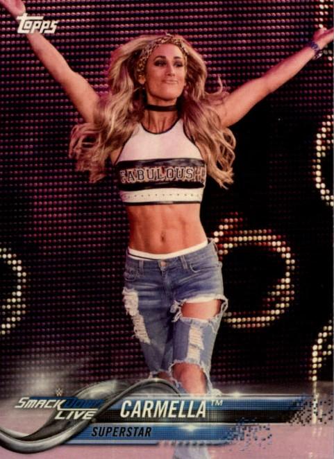 2018 WWE Wrestling Cards (Topps) Carmella (No.20)