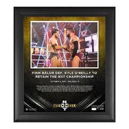 Finn Balor NXT Takeover 31 15 x 17 Commemorative Plaque