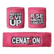 John Cena Rise Above Cancer Sweatband Set