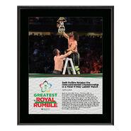 Seth Rollins Greatest Royal Rumble 2018 10 x 13 Photo Plaque