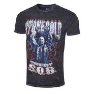 Stone Cold Steve Austin Toughest SOB Mineral Wash T-Shirt
