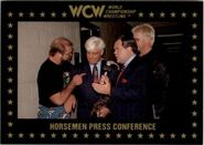 1991 WCW Collectible Trading Cards (Championship Marketing) Horsemen Press Conference 31