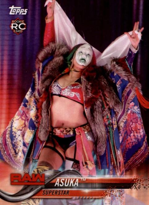 2018 WWE Wrestling Cards (Topps) Asuka (No.10)