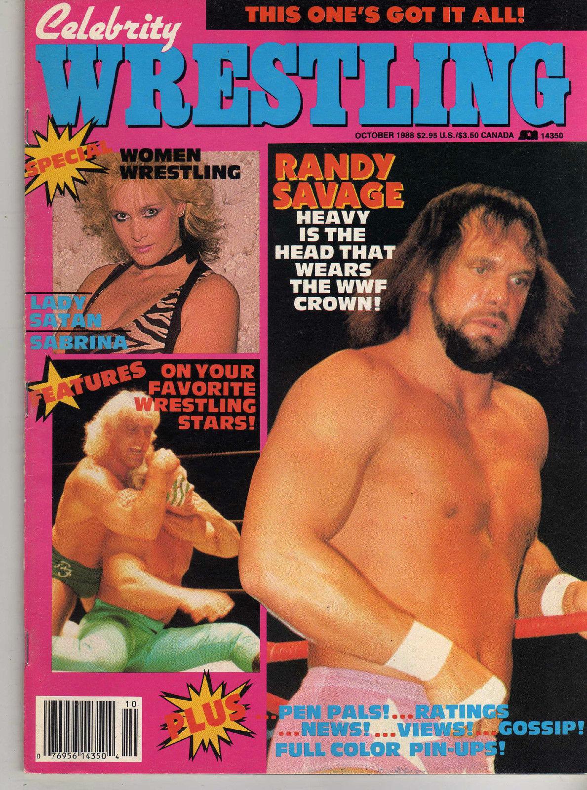Celebrity Wrestling - October 1988