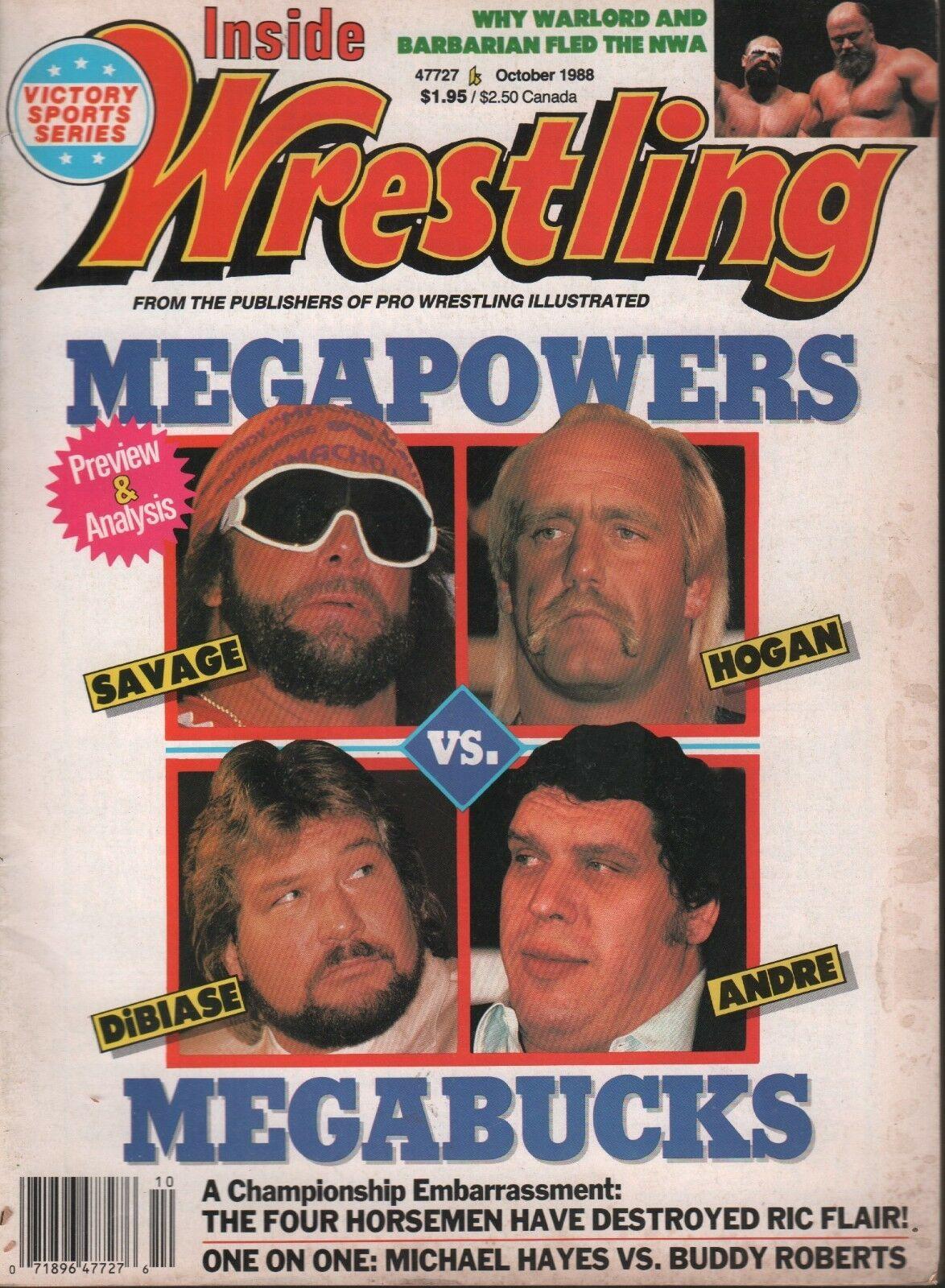 Inside Wrestling - October 1988