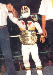 CMLL World Mini-Estrella Championship/Champion Gallery