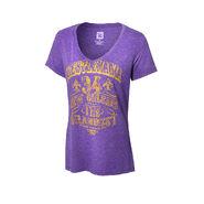 WrestleMania 34 The Grandest Stage Women's V-Neck T-Shirt