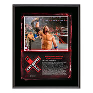 AJ Styles Extreme Rules 2018 10 x 13 Plaque