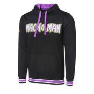 Macho Man Chenille Logo Pullover Hoodie Sweatshirt