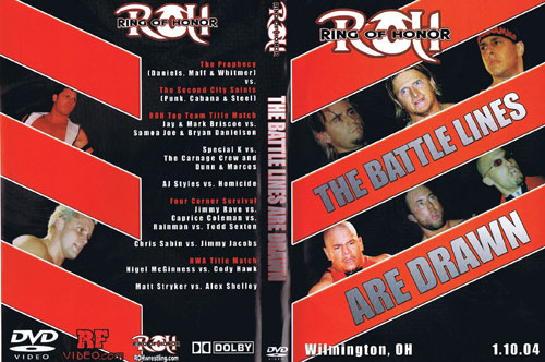 ROH The Battle Lines are Drawn