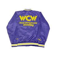 WCW Purple Satin Chalk Line Jacket