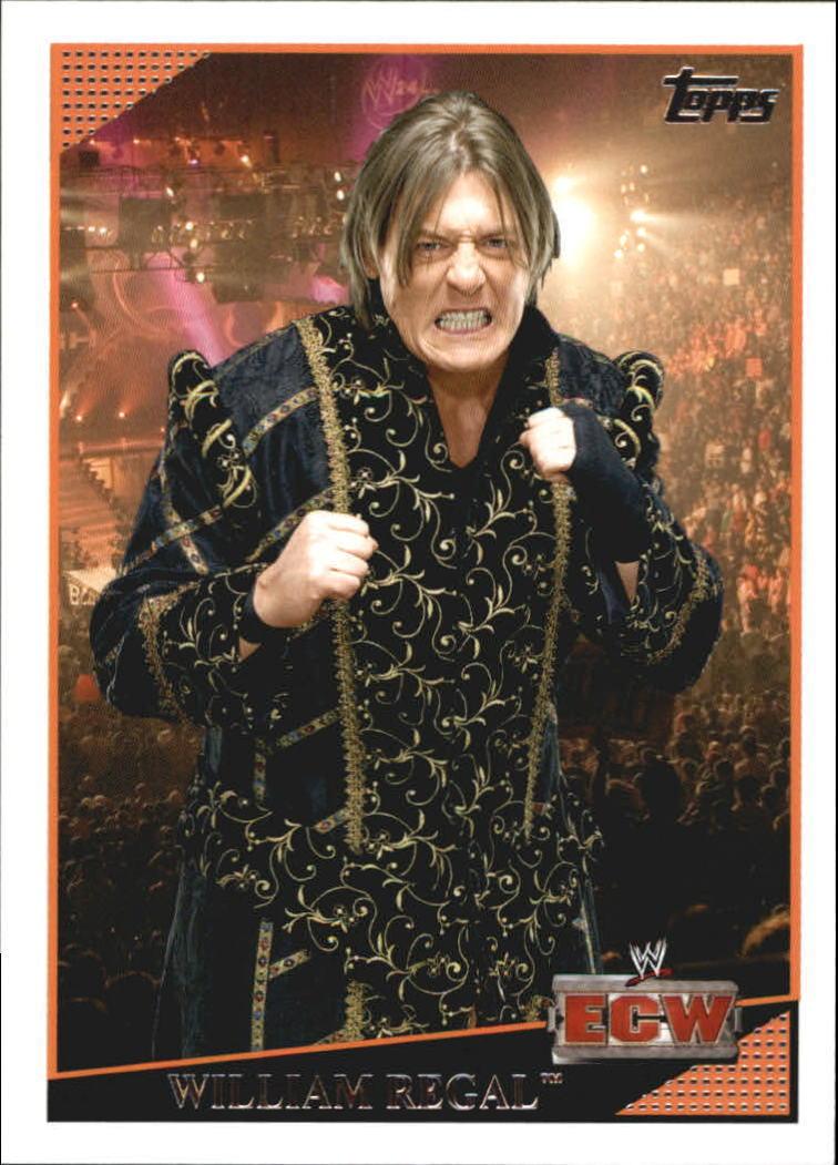 2009 WWE (Topps) William Regal (No.39)