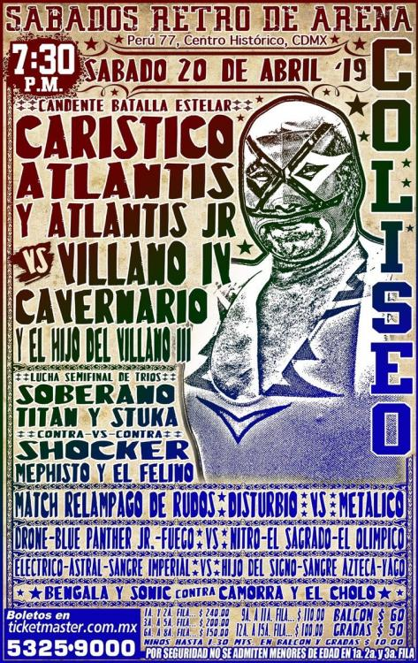 CMLL Sabados De Coliseo (April 20, 2019)