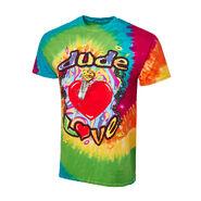 Dude Love Tie Dye Retro T-Shirt