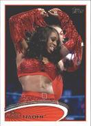 2012 WWE (Topps) Naomi 27