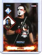 2013 TNA Impact Wrestling Live Trading Cards (Tristar) Sting 106