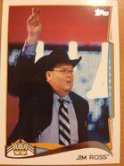 2014 WWE (Topps) Jim Ross 102