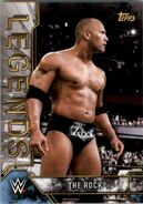 2017 Legends of WWE (Topps) The Rock 3